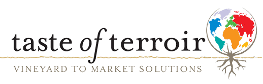 Taste of Terroir – Wine Marketing Logo